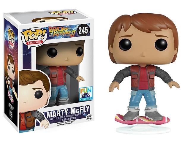 FUNKO POP! MOVIES 系列【回到未來】Marty McFly 漂浮版 限定款