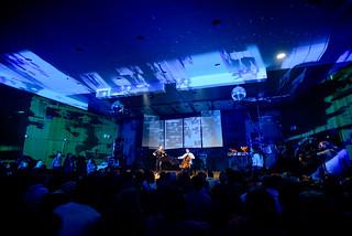 Mari und Hakon Samuelsen bei der Yellow Lounge im Konzulat in Berlin am 04.11.2015