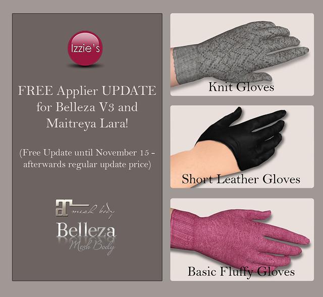 Gloves Applier Updates
