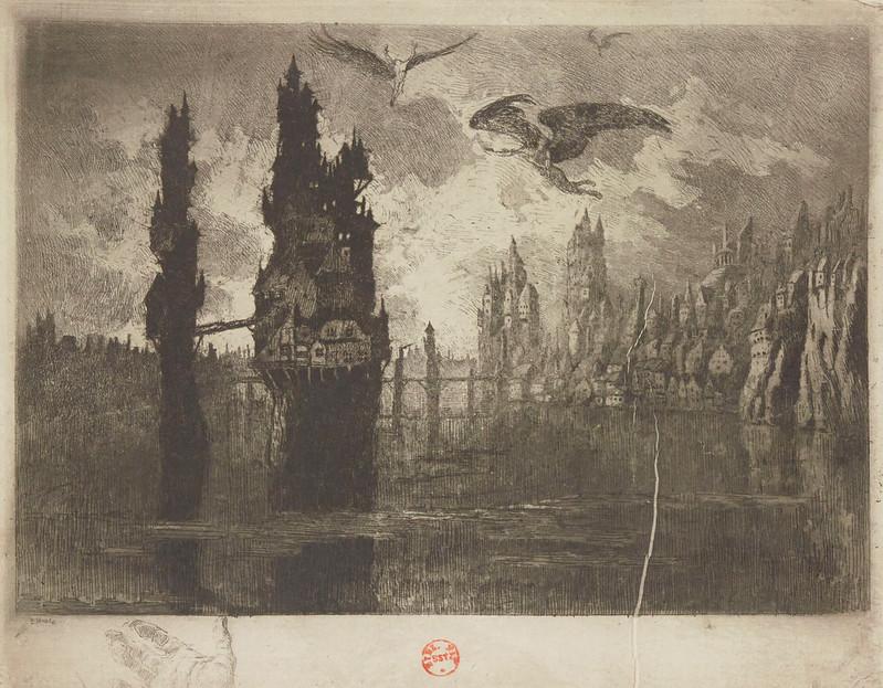 Eugene Viala - Human Symbols #14, Poets, 1906-07