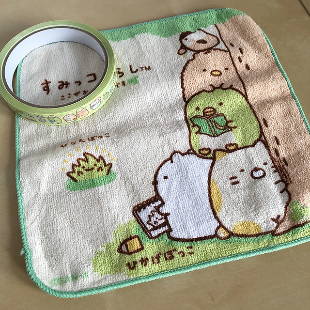 Sumikko Gurashi treats from Artbox