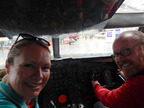 Pima Air-Space museum - even proberen