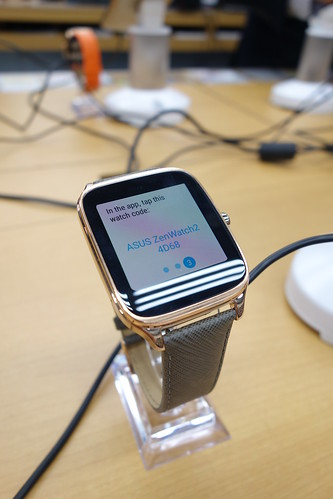 Zenstation ASUS ZenWatch2発表イベント