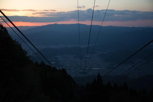 比叡ロープウェイ #比叡山への旅