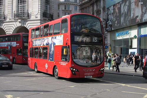 London Sovereign VH9 BD13OJC