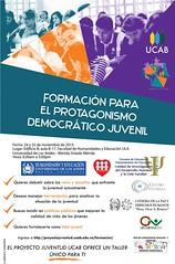 ¿Joven? ¿Emprendedor y líder? ¿Con aspiraciones sociales, económicas o políticas? Mérida 24 y 25 Noviembre