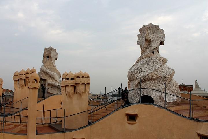 La Pedrera terraza
