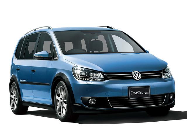 Внедорожный компактвэн Volkswagen CrossTouran. 2010 – 2015 годы