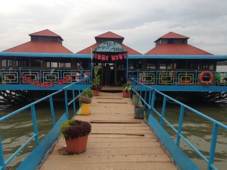 Bar on Lake Tana.