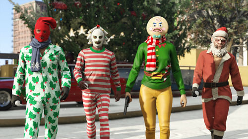 The GTA Online Festive Surprise is now  live