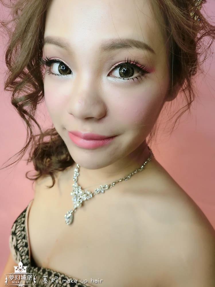 【新秘蓁妮】新娘造型創作 / 甜美高馬尾