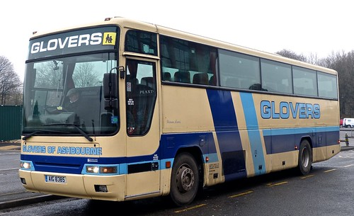 AIG 8385 'Glovers of Ashbourne' Volvo B10M / Plaxton on 'Dennis Basfords railsroadsrunways.blogspot.co.uk'