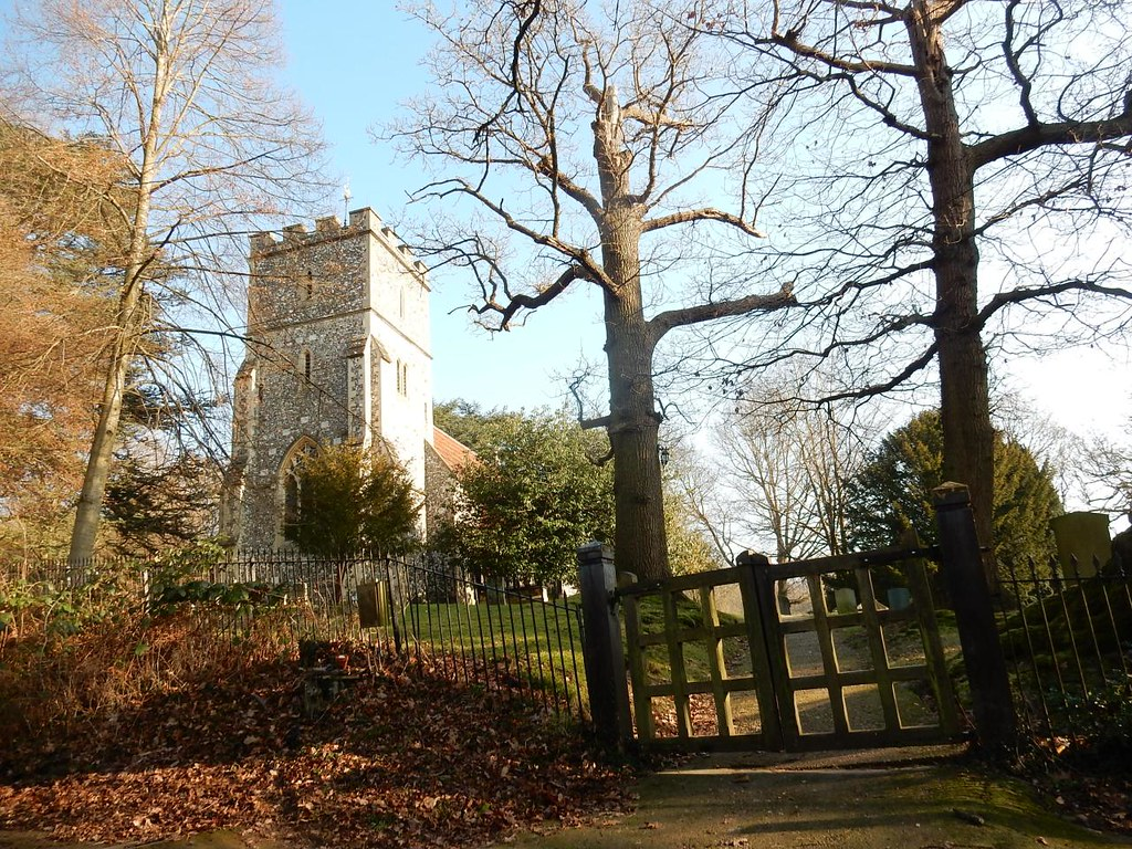 Hedgerley Church Gerrards Cross to Cookham