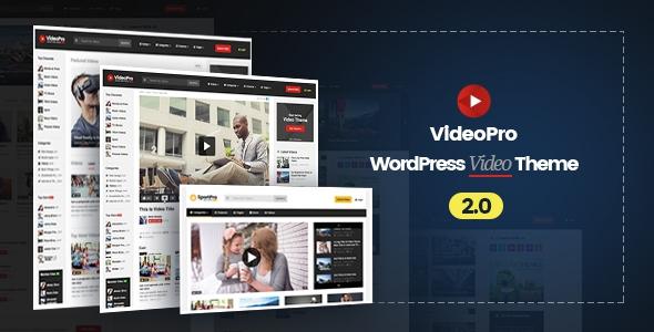 VideoPro v2.0.5.2 - Video WordPress Theme