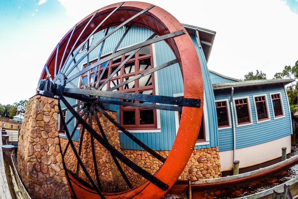 Port Orleans Water Wheel