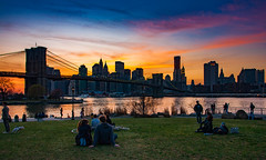 Enjoying the Sunset @Brooklyn