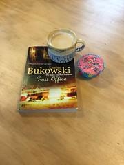 Bukowski and a cupcake