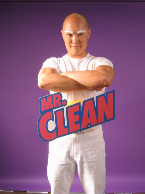 mr clean the costume contenst winner by brianz