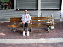 Downtown Miami Forrest Gump S Park Bench The Forrest Ben Flickr