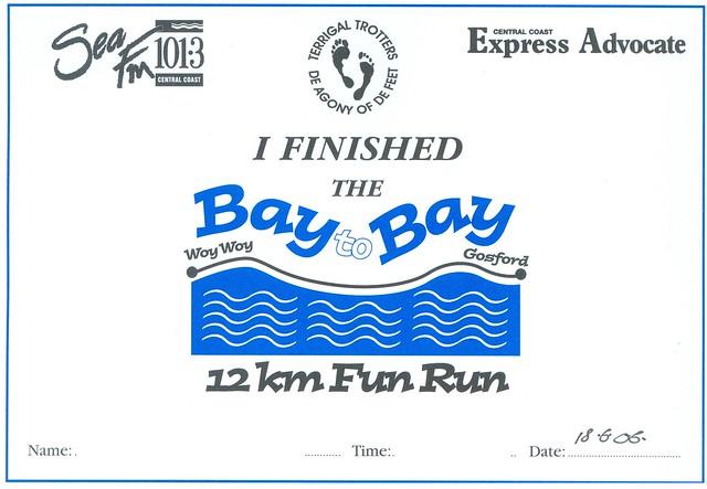 Fun Run Certificate Template