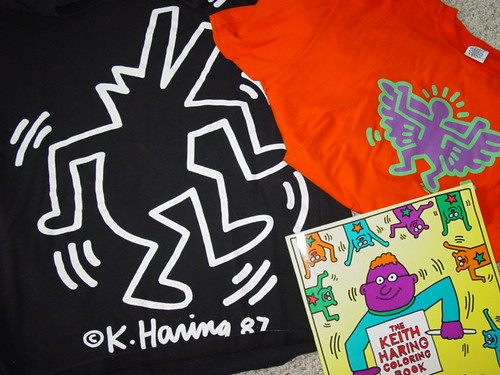 80's keith haring pop shop stuff