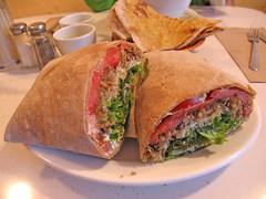 meal, breakfast, sandwich wrap, meat, food, dish, cuisine,