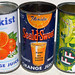 Orange Juice and Lemonade Cans, 1950's by Roadsidepictures