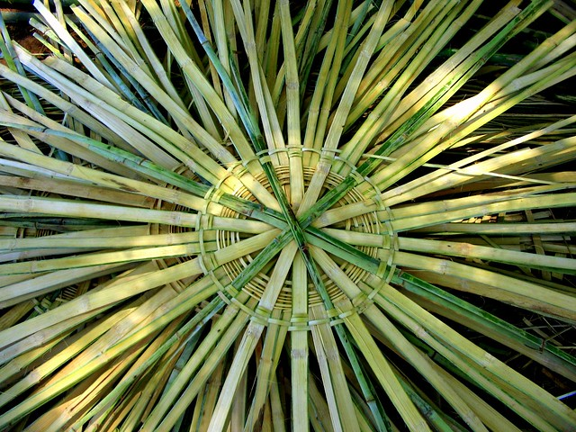 How To Make A Woven Grass Basket : Wheel of life for the poor bamboo basket makers flickr