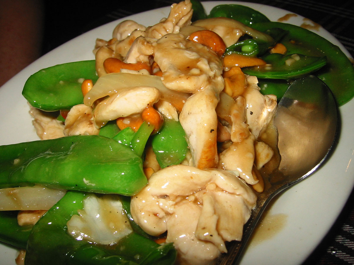 pictures Chicken and Snap-Pea Stir-Fry