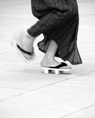 Dancing getas