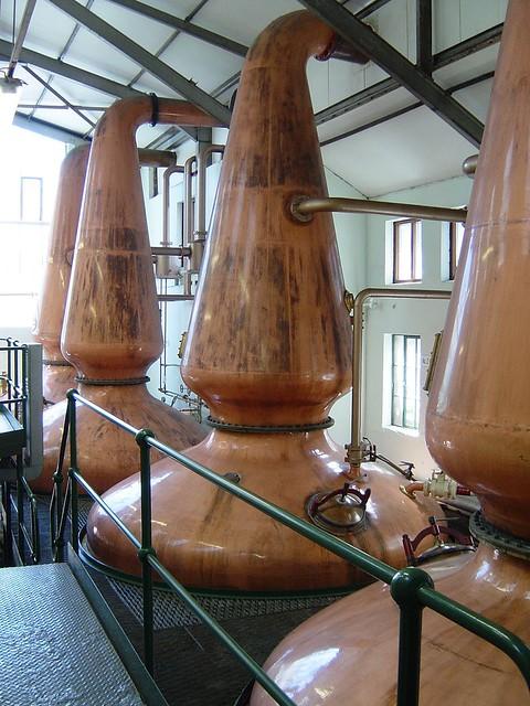 Four Still at Jura Distillery, Craighouse