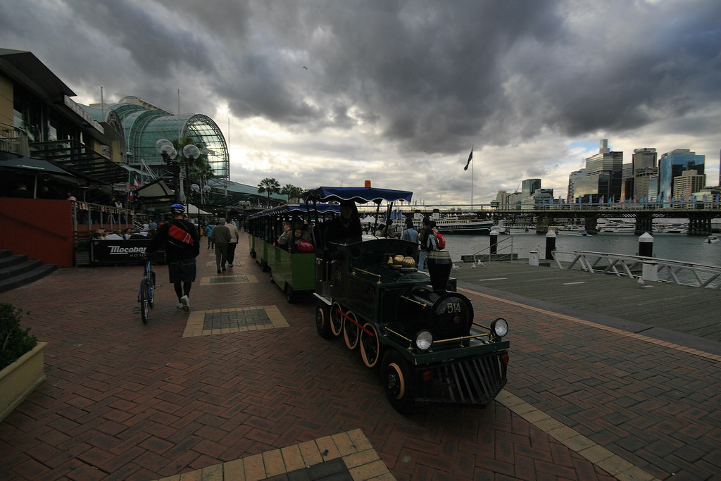 The tourist train by Brian Yap (葉)