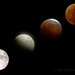 Phases of a Total Lunar Eclipse