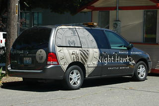 Airport Courtesy Shuttle Vehicle Wraps And Graphics For