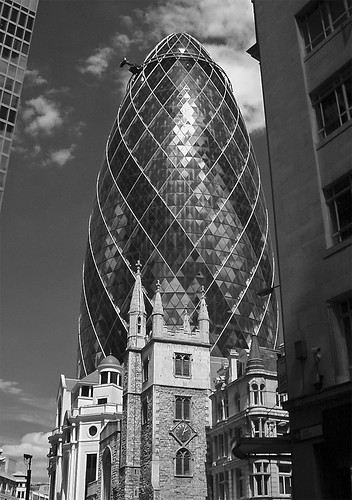 Swiss RE Building London Infrared