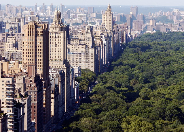 Central Park and its Western Escarpment