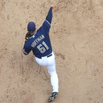 Trevor Hoffman Warming Up (5)