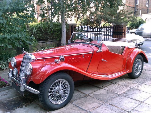 Vintage Mg Car 84