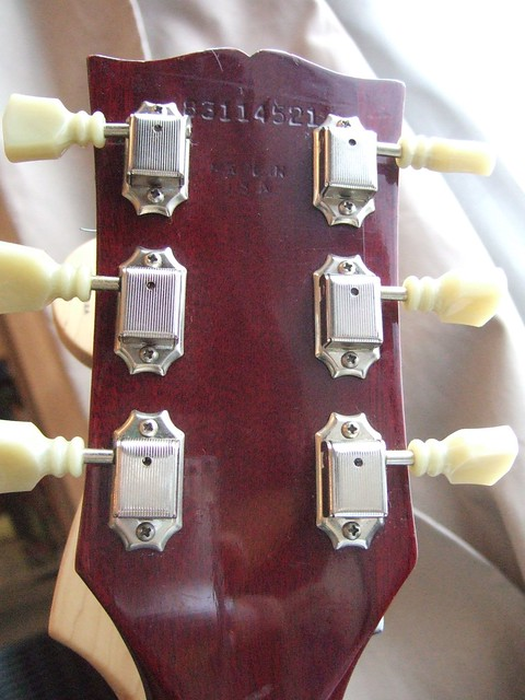 Photo:Gibson SG serial number By wetwebwork