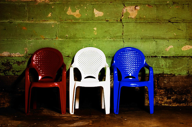 Cool Red White And Blue Chairs Joe Lencioni Flickr Short Links Chair Design For Home Short Linksinfo