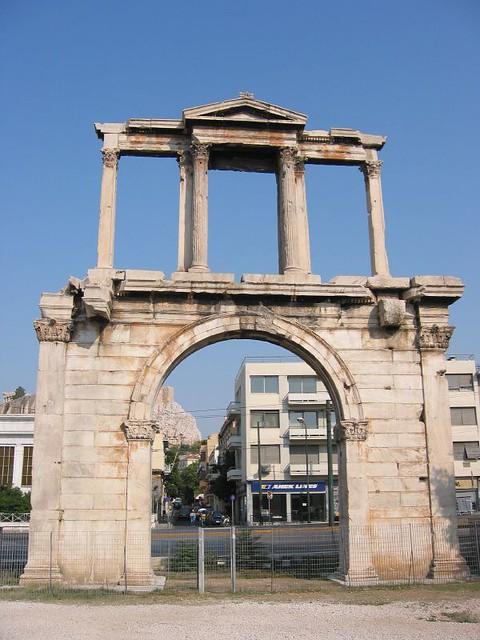 Hadrians Gate  Flickr - Photo Sharing!