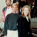 Meryl Streep: Jeff with Meryl Streep