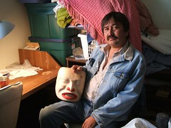 Ed Frank - Tahltan mask carver