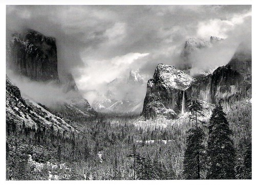 Ansel Adams' Yosemite in Winter