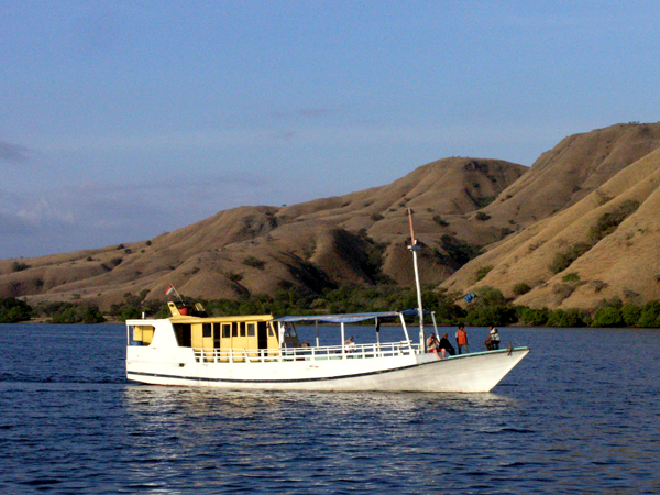 Local Komodo fishing boat