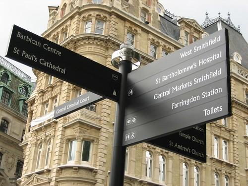 Cartel en Londres