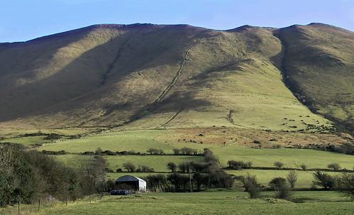 ireland mountain landscape limerick galtee plemeraldisland anglesboro