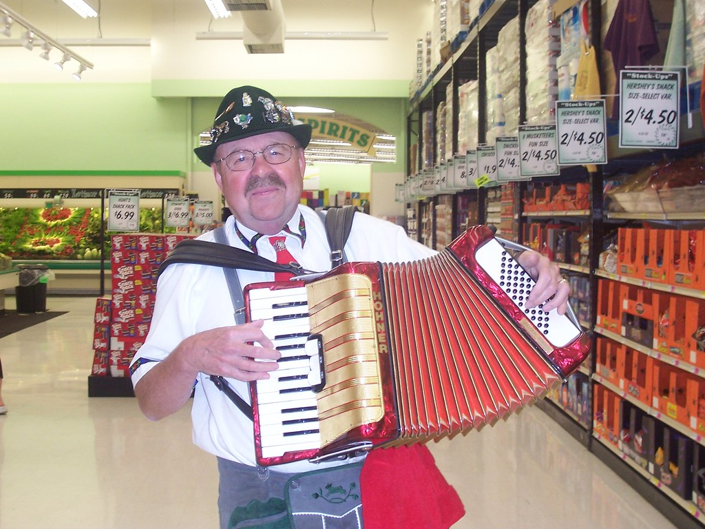 Oktoberfest Accordion Man