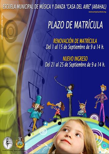 AionSur 20647316793_06eef32068_d Plazo de matriculación y trámites en la Escuela Municipal de Música Cultura Educación
