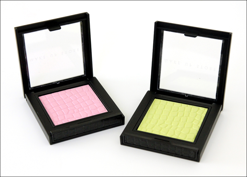 Make up store eco microshadows